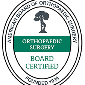 orthopaedic surgery board certified