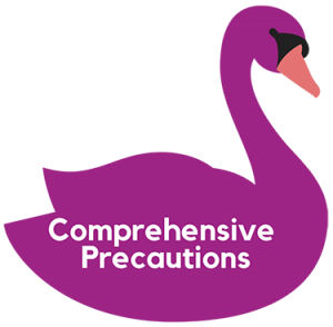 COVID 19 comprehensive precautions icon